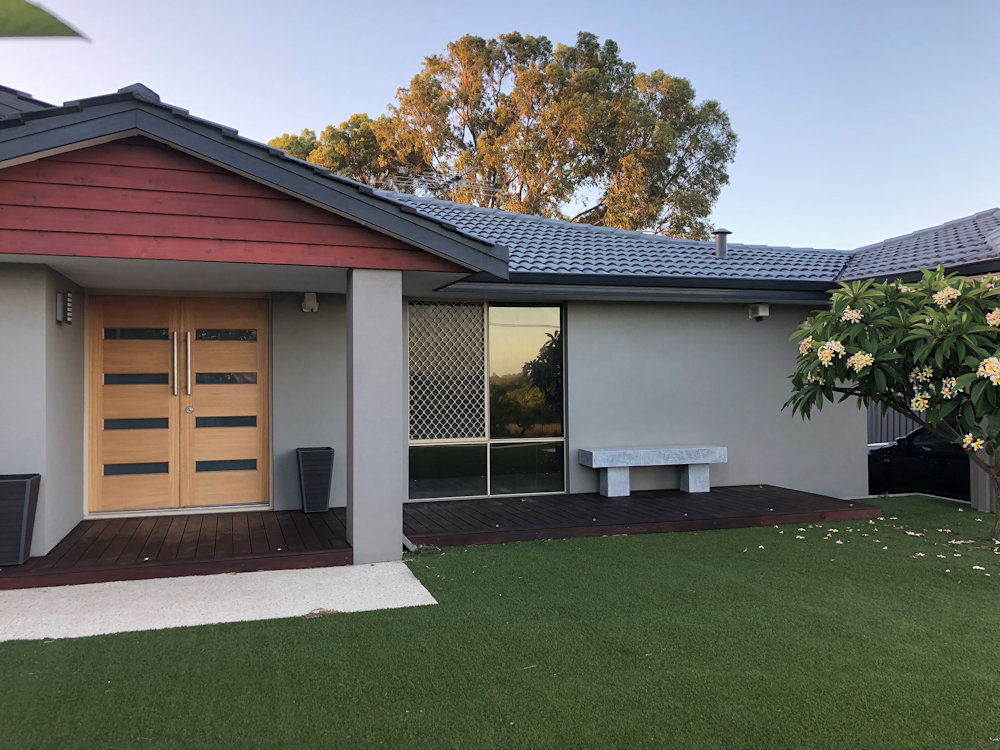 Sand Finish Render Perth WA