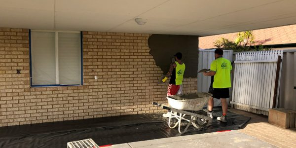 Sand Finish Render Perth